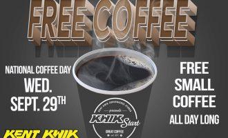 Free Cup of Coffee Tomorrow